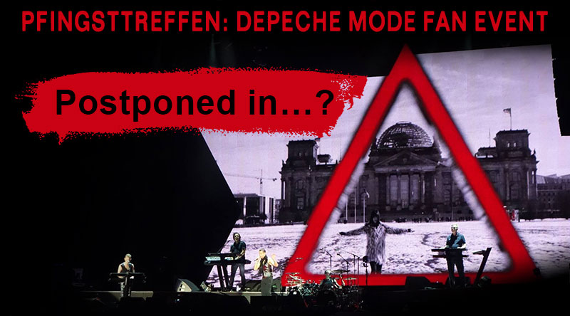 Pfingsttreffen: Depeche Mode Fan Event powered by Twenty Four Hours : Kulturprogramm für Berlin