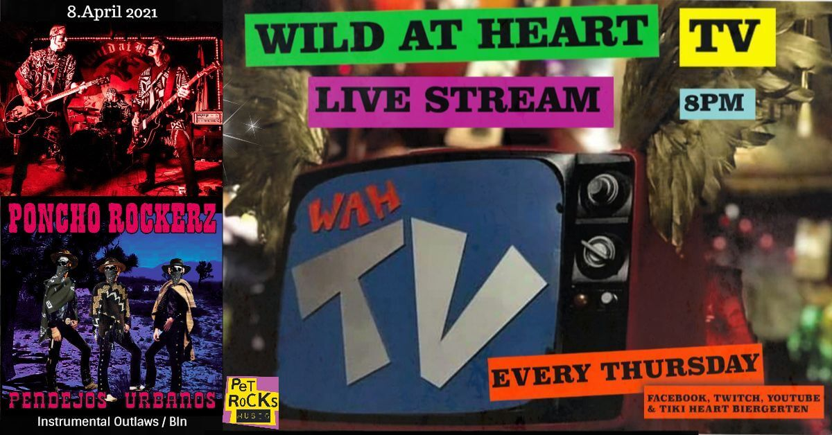 Wild At Heart TV #42 w/ PONCHO ROCKERZ - Instrumental Outlaws / Bln